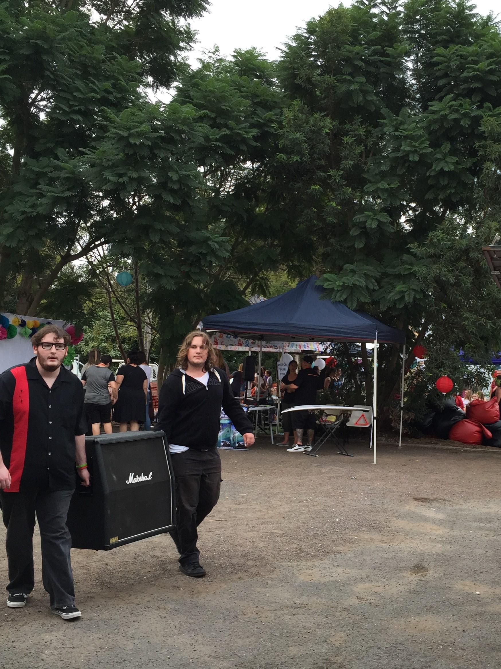 sun street festival 2015 outside